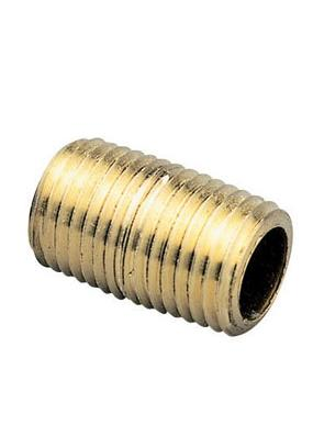 Brass Close Nipple – 1/8 NPT