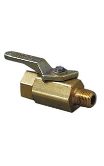 Gas Light Shut-off Valve - Lever Handle