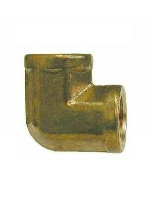 Brass 90 Degree Elbow – FORGED Female x Female 1/8 NPT