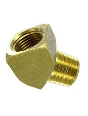 Brass 45 DEGREE STREET ELBOW – EXTRUDED Female x Male 1/8 NPT