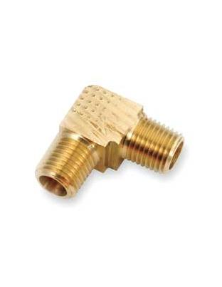 Brass 90 Degree Male Elbow – EXTRUDED Male x Male 1/8 NPT