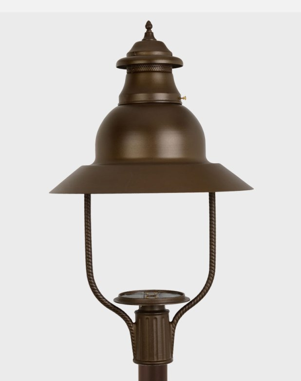 Apollo - Estate Series Cast Aluminum Gas or Electric Lantern