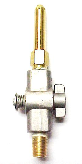 "2.25"" or 3.0"" Brass Open Flame Burner with Pilot Valve"