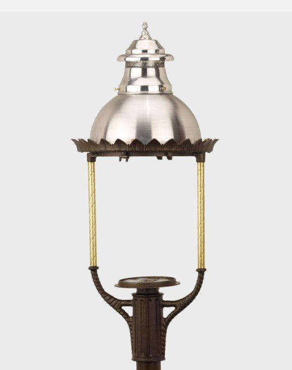 Boulevard Model 3600 - Estate Series Post Mount Gas or Electric Lamp