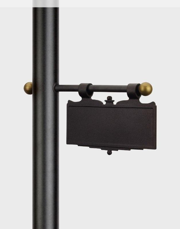 Cast Aluminum Hanging Plaque