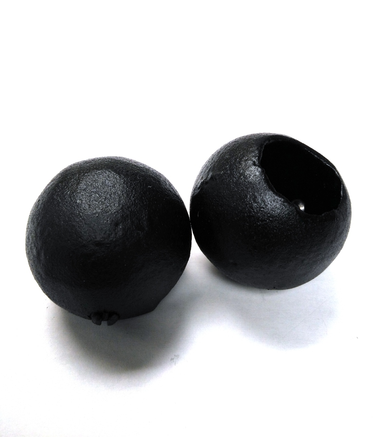Cast Metal Ornamental Ladder Rest Balls