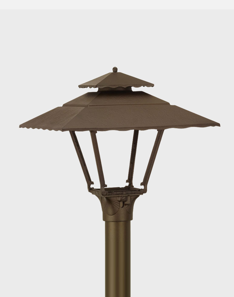 Contemporary Model 1800 - Residential Cast Aluminum Gas or Electric Lantern