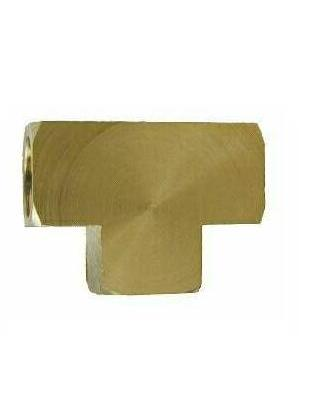 Brass Tee – EXTRUDED 1/4 All Female