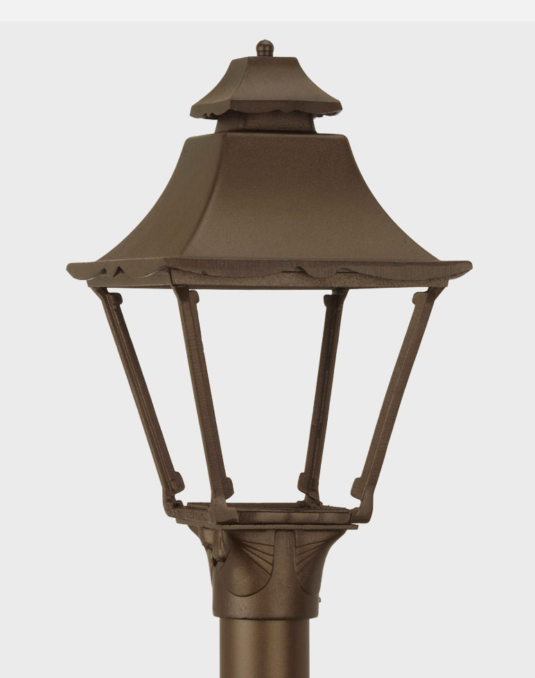 Essex Model 1900 Residential Series Cast Aluminum Gas or Electric Lantern