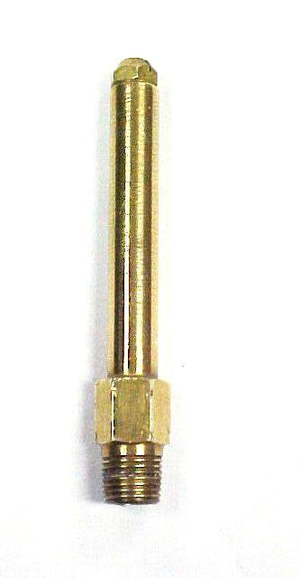 "2.25"" and 3"" Brass Open Flame Burner Stem"