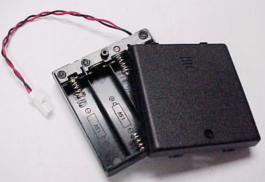 4AA  Battery Holder With Batteries