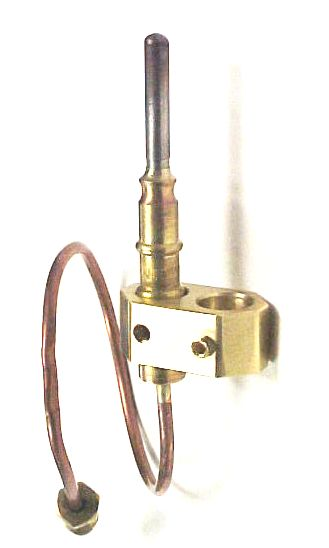 Gas Light Thermocouple Holder - Brass