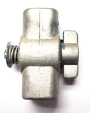 Gas Light Shut-Off Valve - Aluminum
