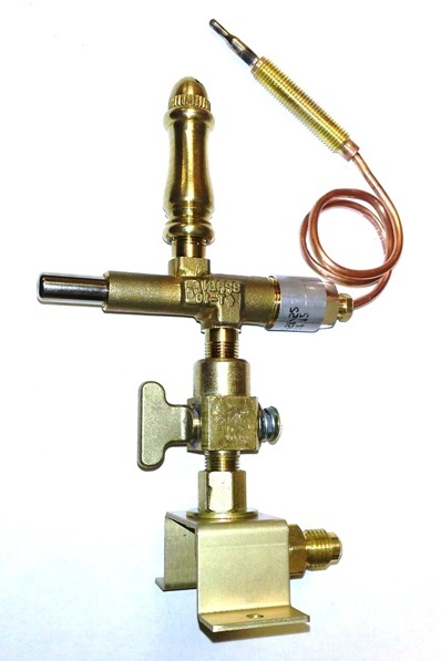 (SP108) - Open Flame Burner, Safety Shut-off, Valve & Bracket