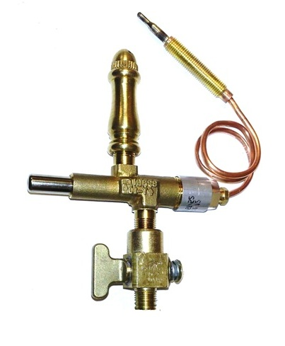 (SP108) - Open Flame Burner, Safety Shut-off & Manual  Valve