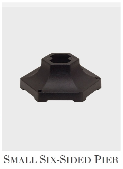Small Six-Sided Pier Mounting Bracket