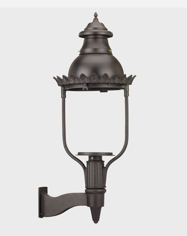 Victorian Model 4200 - Estate Series Wall Mount Gas or Electric Lamp