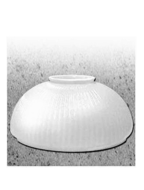Milk Glass Dome For Yorktown Hadco Gas Lights