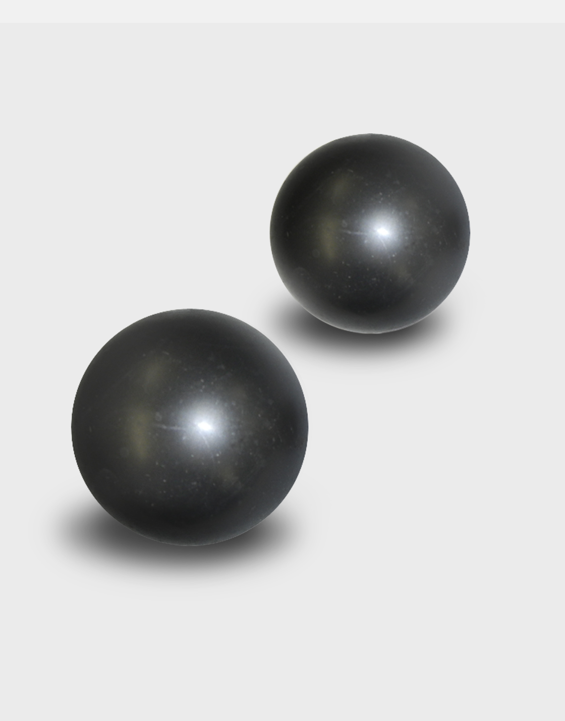 Black Plastic Balls for Ladder Rest